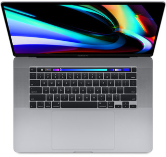 """Apple 16"""" MacBook Pro - 2.6GHz Intel Core i7 - 16GB RAM - 512GB SSD - Space Gray - Touch Bar & Touch ID MVVJ2LL/A"""