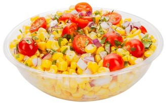 Restaurantware Large Disposable Plastic Salad Bowl, Cold Salad Bowl - Durable PET Disposable Plastic - Black - Use In-House or for To-Go - 21 oz - 200ct Box