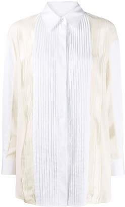 Golden Goose Susan pleated button-up shirt