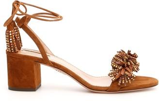 Aquazzura Wild Crystal Sandals 50