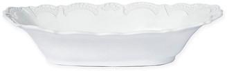 Vietri Incanto Au Gratin Bowl - White