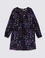 Marks and Spencer Ditsy Frill Floral Print Dress (5-14 Years)