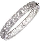 14k White Gold Diamond Bangle Bracelet (1 ct. t.w.)