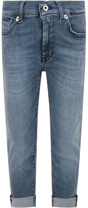 Dondup Light Blue george Boy Jeans With Iconic D