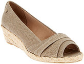 LifeStride Espadrille Peep Toe Wedge - Lavish