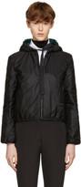 Prada Reversible Black and Green Nylon Jacket