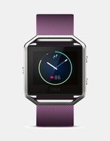 Fitbit Blaze Watch - Plum/Silver