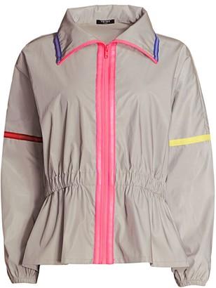 Terez Reflective Peplum Jacket