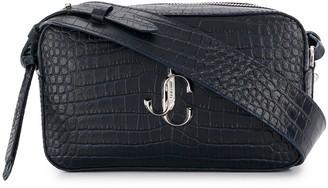 Jimmy Choo Varenne crocodile-effect crossbody bag