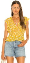 Thumbnail for your product : BCBGMAXAZRIA Flutter Sleeve Blouse