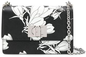 Furla 1927 Floral-Print Crossbody Bag