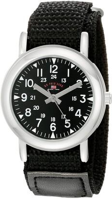 U.S. Polo Assn. Kids' USB75018 Analog Display Analog Quartz Black Watch