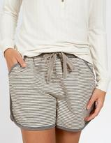 Fat Face Jersey Stripe Shorts
