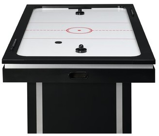 "Picket House Furnishings Westbrook 47"" Two Player Air Hockey Table Manual Scoreboard"
