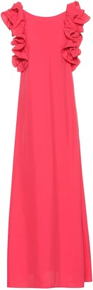 Co Ruffle-sleeve maxi dress