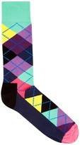 Happy Socks Argyle Cotton Blend Socks