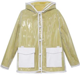 Pologeorgis The Lemonade Hooded Shearling Raincoat