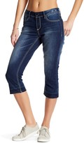 Seven7 Released Hem Slim Straight Crop Jeans