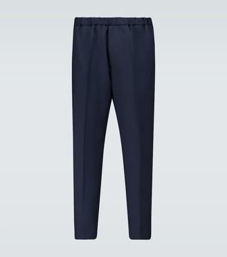 Jil Sander Cropped wool pants