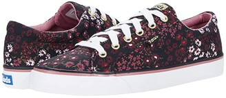 Keds Jump Kick Floral (Black) Women's Shoes