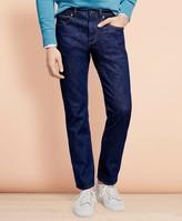 Brooks Brothers 901 Slim Straight Stretch Jeans in Indigo Denim