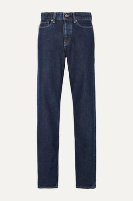 KING & TUCKFIELD Briony High-rise Straight-leg Jeans - Dark denim