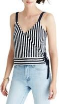 Madewell Women's Chloe Jacquard Stripe Wrap Tank