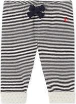 Petit Bateau Baby boy's striped double knit cotton pants