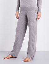 Sunspel Relaxed-fit straight lamsbwool lounge trousers