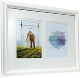 "Profile Wedding Timber Frame 2x5x7""/13x18cms White"