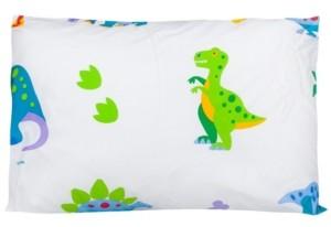 Wildkin Wildkin's Dinosaur Land Toddler Hypoallergenic Toddler Pillowcase Bedding