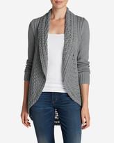 Eddie Bauer Women's Peakaboo Cardigan Sweater
