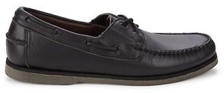 Allen Edmonds Force 10 Leather Boat Shoes