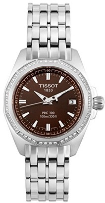 Tissot Women's Quartz Watch with Silver Stainless Steel T22118111PRC100