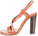 Proenza Schouler Leather Ankle-Strap Sandals