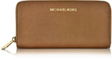 Michael Kors Luggage Jet Set Travel Saffiano Leather Continental Wallet