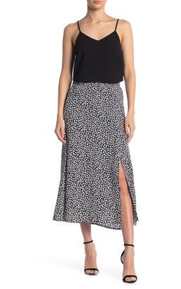 Elodie K Print Midi Skirt