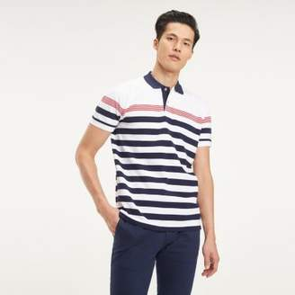 Tommy Hilfiger Pure Cotton Mixed Stripe Polo