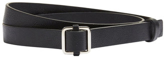 French Connection Skinny Square Buckle Belt