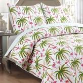 Panama Jack Flamingo Quilt Set
