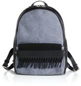 3.1 Phillip Lim Bianca Mini Fringed Leather & Denim Backpack