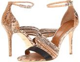 Rachel Roy Luna4 (Natural Multi Watersnake/Black Matte Landsnake) - Footwear