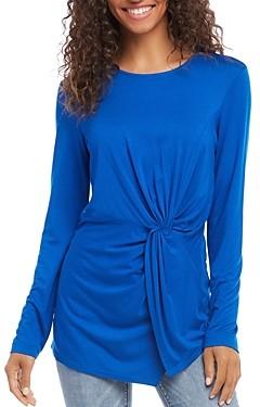 Karen Kane Twist-Front Jersey Knit Top
