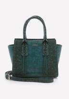 Bebe Whipstitch Crossbody Bag