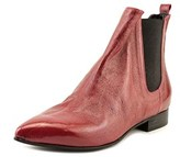 Luca Valentini Billy Pointed Toe Leather Ankle Boot.