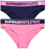 Superdry Athletic Briefs Double Pack