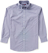 Roundtree & Yorke TravelSmart Long-Sleeve Mini Check Sportshirt
