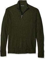 Geoffrey Beene Men's Tall Size Quarter Zip Sweater