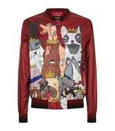 Dolce & Gabbana Dog Print Jacket
