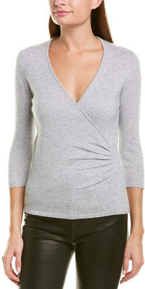 Qi Wrap Cashmere Sweater